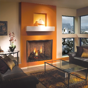 36 CF Rectangular II Fireplace
