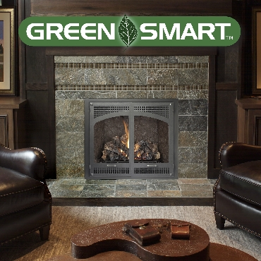 864 TRV GS Fireplace