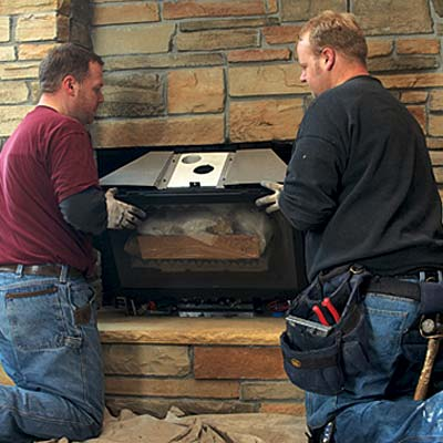 Long Island Fireplace Installation