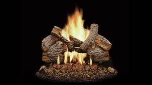 Monessen Massive Oak Gas Log Set