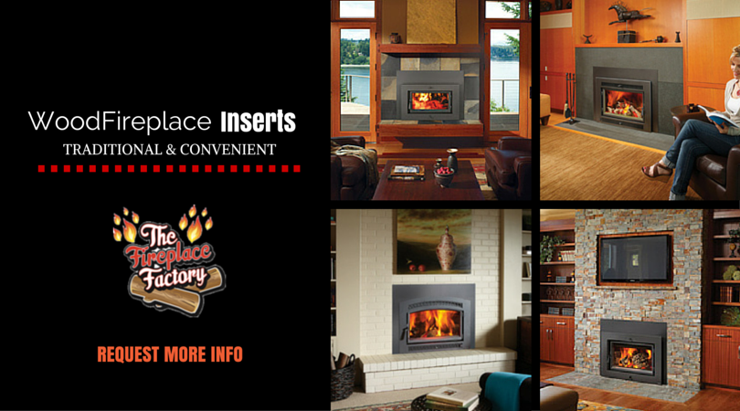 Wood Burning Fireplace Inserts in Long Island