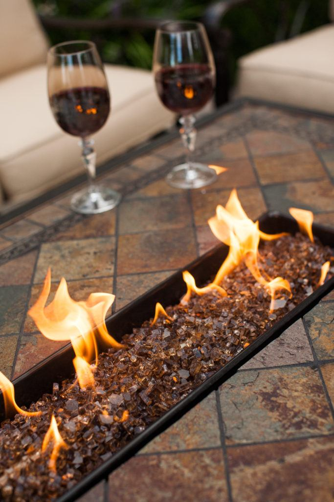 Fire Pits Fire Tables Fireplaces Long Island The Fireplace - Bar top fire pit table