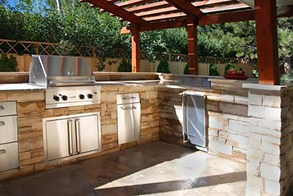 Outdoor Kitchens - Fireplaces Long Island - The Fireplace Factory ...