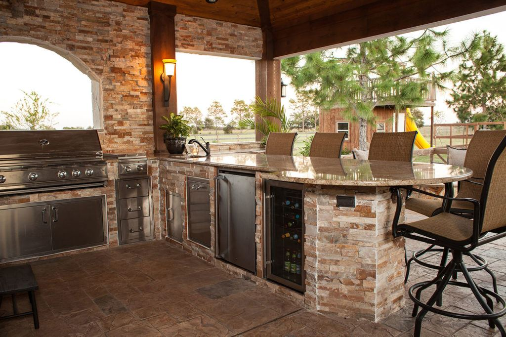 Outdoor Kitchens - Fireplaces Long Island - The Fireplace ...