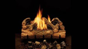 Monessen Charred Hickory Gas Log Set