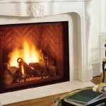 Covington fireplace