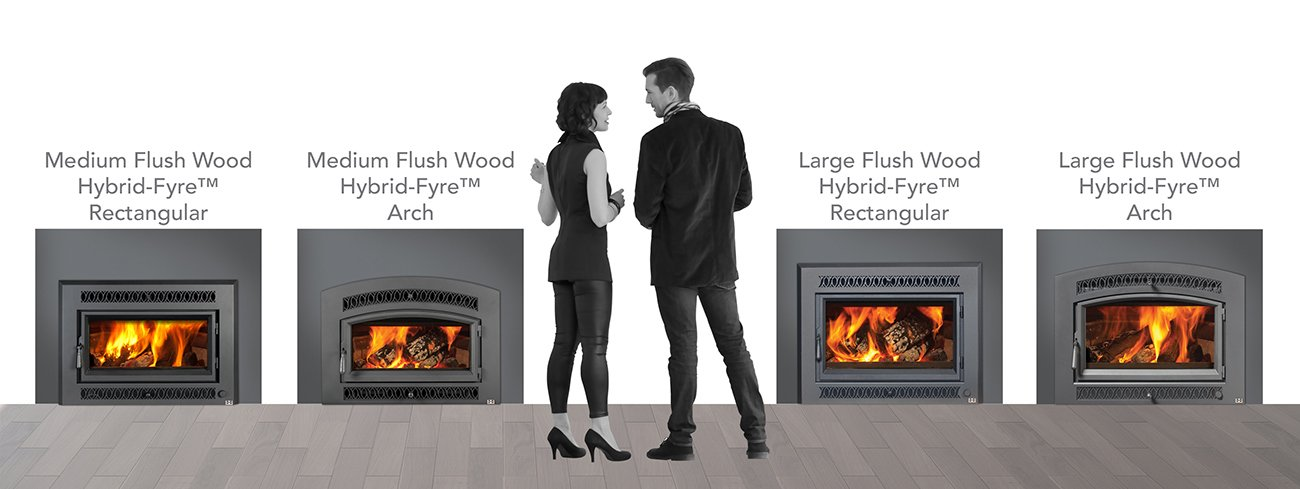 Fireplace X Wood Inserts