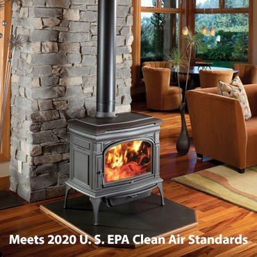 Cape Cod Hybrid-Fyre® Wood Stove