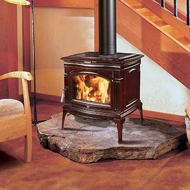Rockport Hybrid-Fyre® Wood Stove