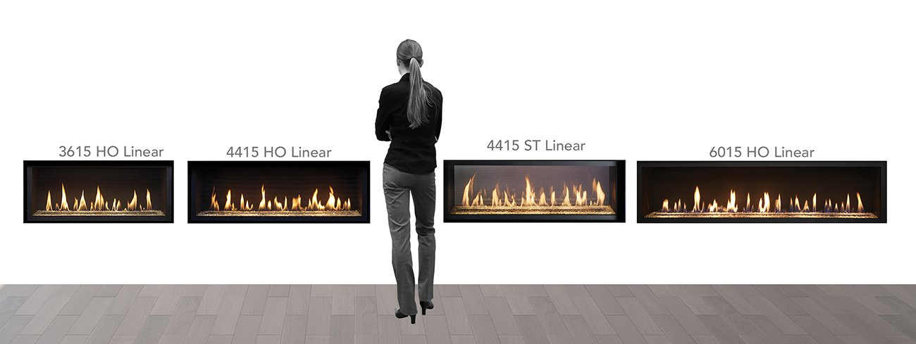 FireplaceX Linear Gas Fireplaces